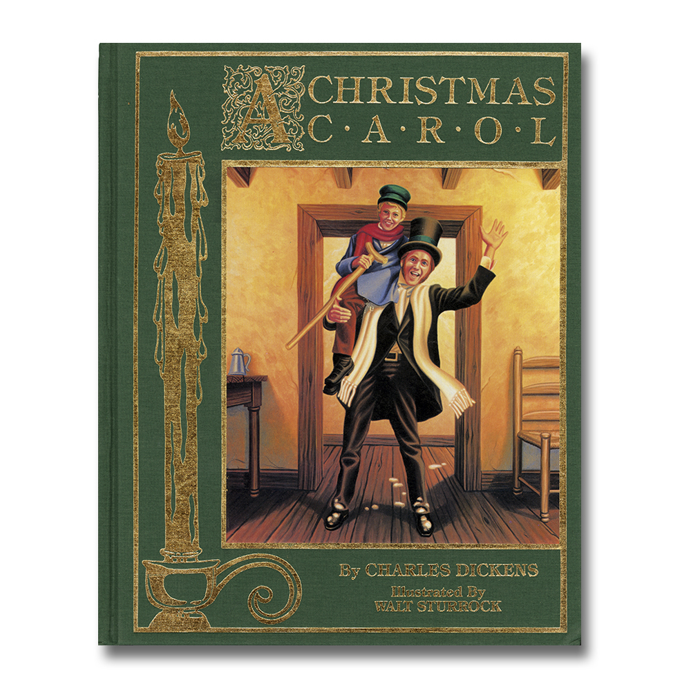 """A Christmas Carol"" book, Cover 